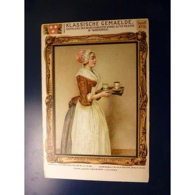 Jean-Étienne Liotard - Das Schokoladenmädchen