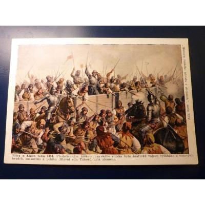 Historie českého národa v obrazech - Bitva u Lipan roku 1434