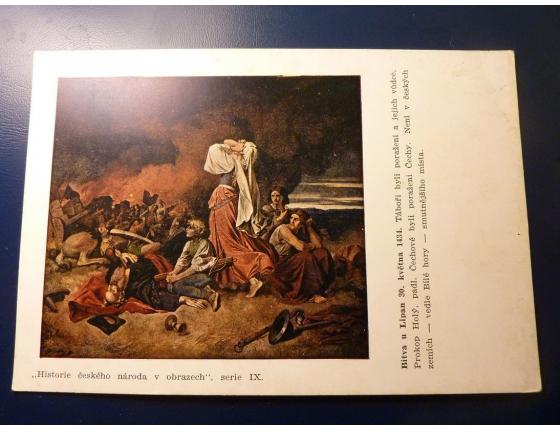 Historie českého národa v obrazech - Bitva u Lipan 30. května 1434
