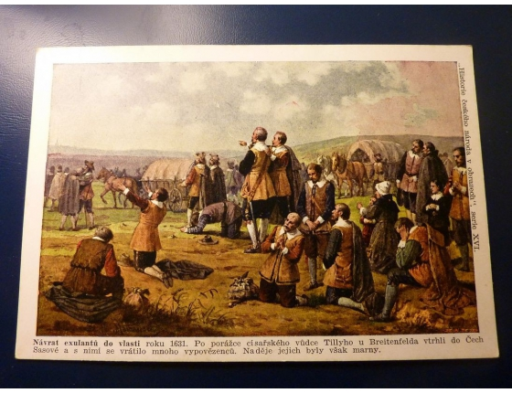 Historie českého národa v obrazech - Návrat exulantů do vlasti