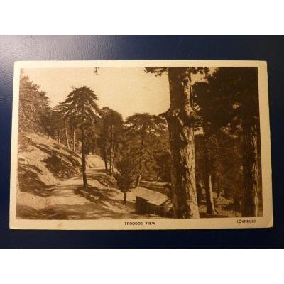 Kypr - pohlednice Troodos View