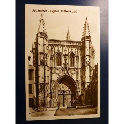Francie - pohlednice Avignon 1928