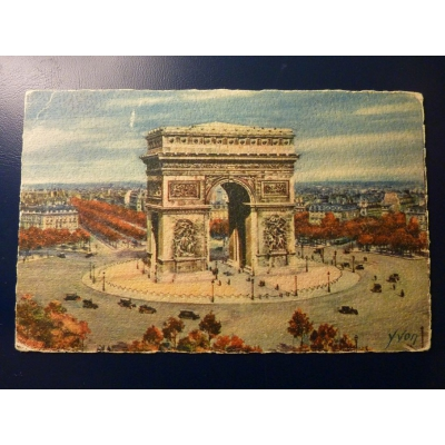 Francie - pohlednice Paris 1927