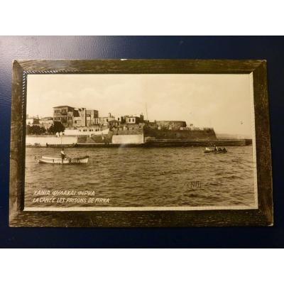 Řecko pohlednice Chania 1929