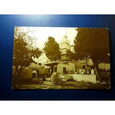 Afrika - pohlednice Alžírsko, Alžír - Mosquée de Sidi Abderhaman 1929