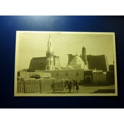 Afrika - Postkarte Ägypten, Luxor - Moschee von Abu Haggag 1929