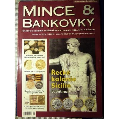 ANTIKVARIÁT - Mince a bankovky 1/2009