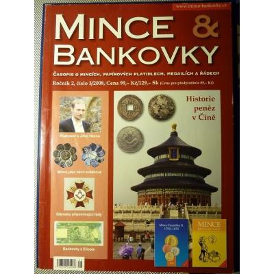 ANTIKVARIÁT - Mince a bankovky 3/2008