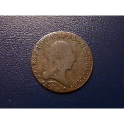 František I. - mince 1 krejcar 1812