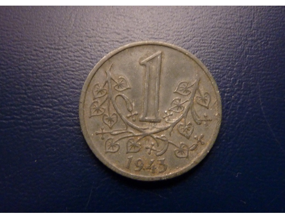 1 koruna 1943