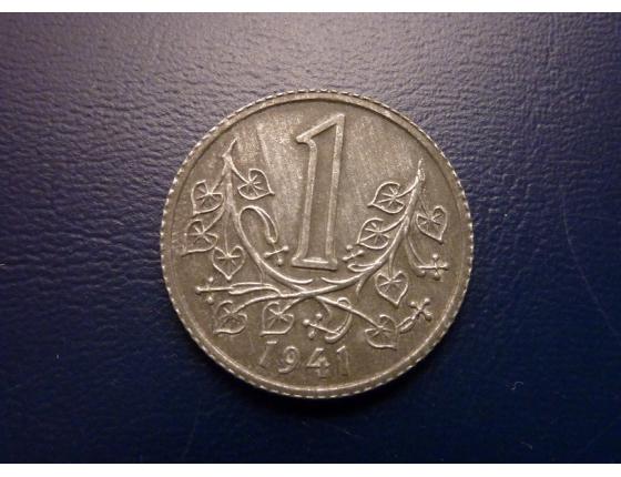1 koruna 1941
