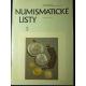 ANTIKVARIÁT - Numismatické listy 3/2001