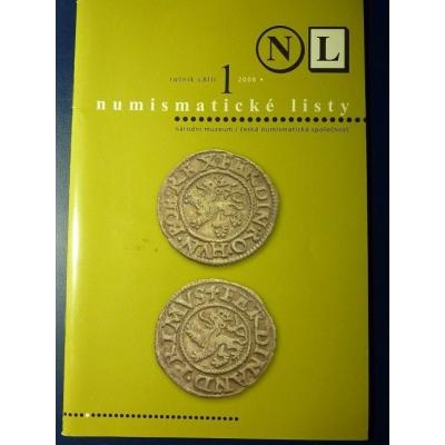 Numismatické listy 1/2008