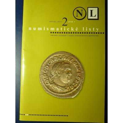 Numismatické listy 2/2008