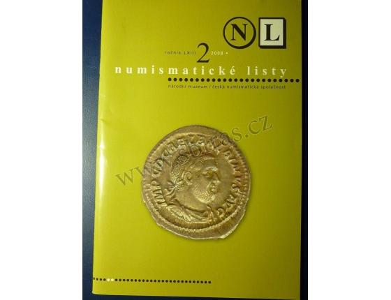 ANTIKVARIÁT - Numismatické listy 2/2008