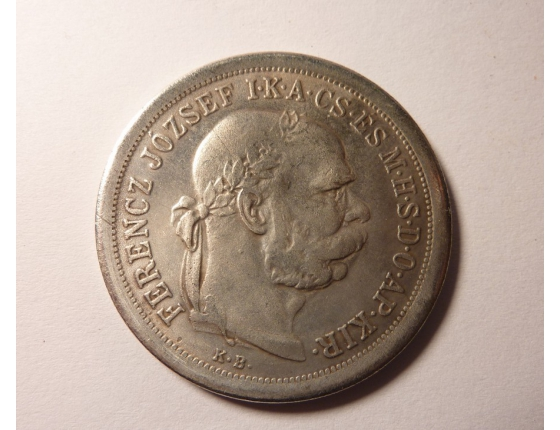 5 korun 1900 kopie