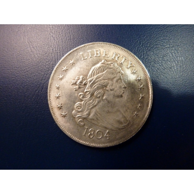 US dollar in 1804 replica