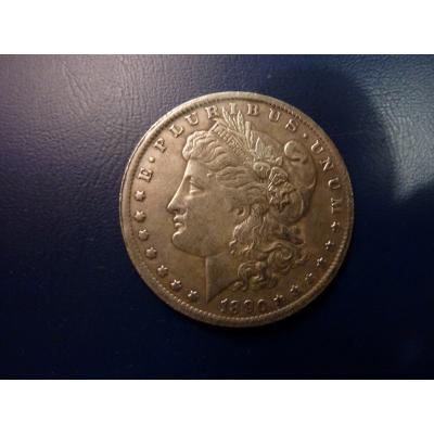 Morgan Dollar 1890 replica
