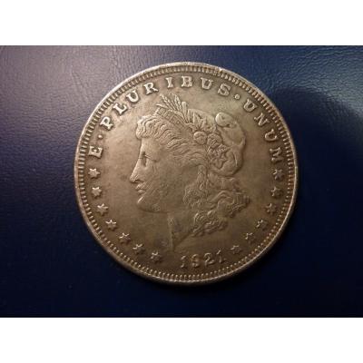 Morgan Dollar 1921 replica