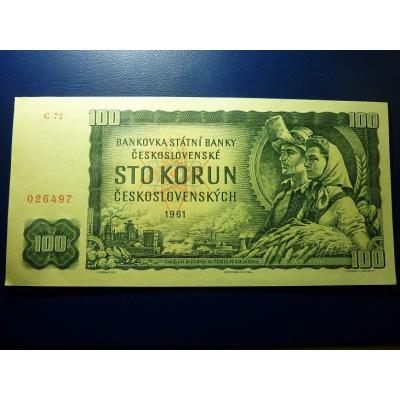 100 Korun 1961 UNC