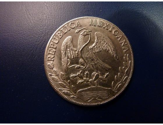 Mexický dolar kopie