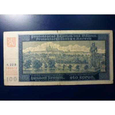 100 Kronen 1940