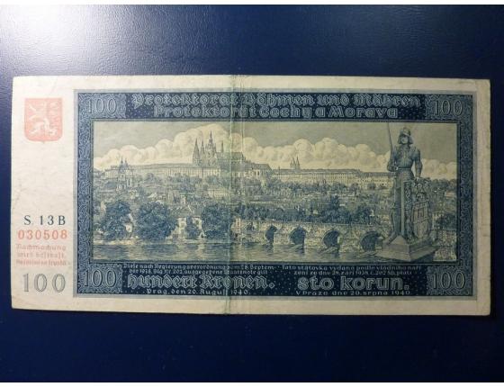 100 korun 1940