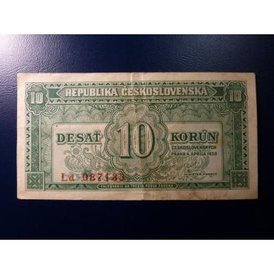 10 Kronen 1950
