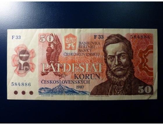 50 korun 1987