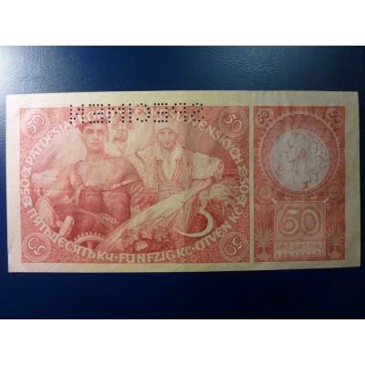 50 Kronen 1929
