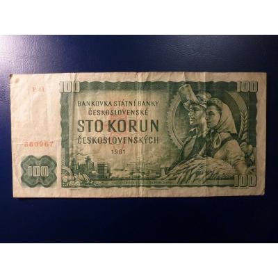100 Kronen 1961