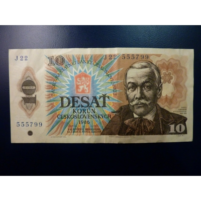 10 Kronen 1986