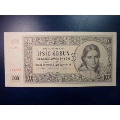 1000 Kronen 1945