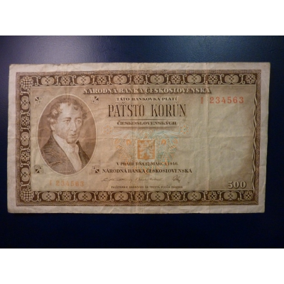 500 korun 1946