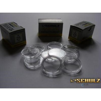 10 x kapsle na mince 25 mm