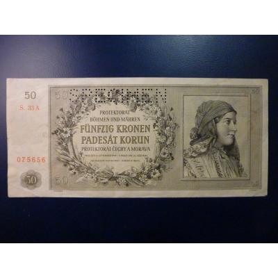 50 Kronen 1944