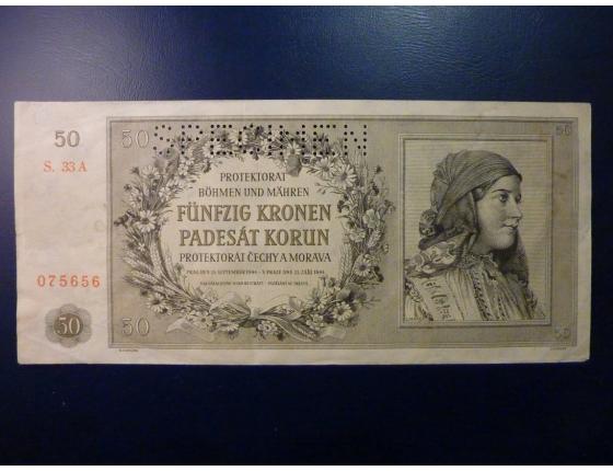 50 korun 1944