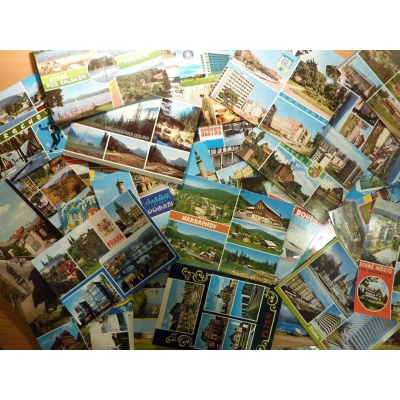 50 pcs. Czechoslovak topography postcards