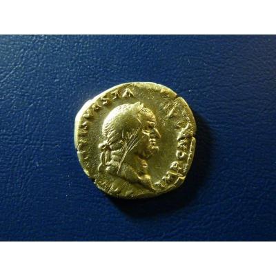 Vespasianus, denár