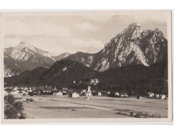 Füssen von Westen 1927