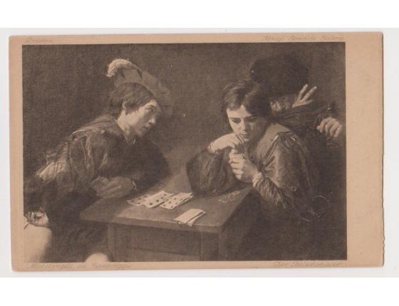 Michelangelo da Caravaggio - Falešní hráči