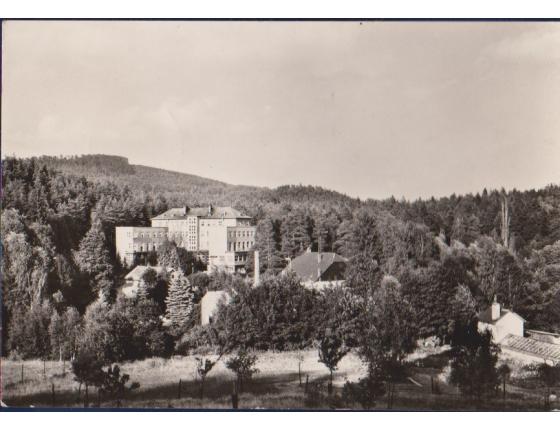 Cvikov - Martinovo údolí, sanatorium