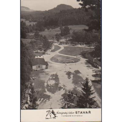 Pionýrský tábor Stavař v Srbské Kamenici
