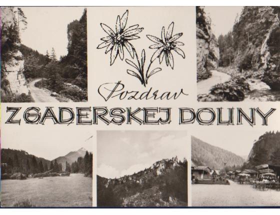 Pozdrav z Gaderskej doliny