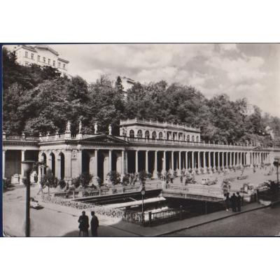 Karlovy Vary - kolonáda Československo-sovětského přátelství