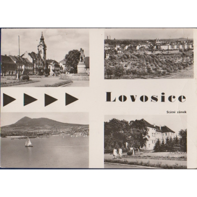 Lovosice - státní zámek