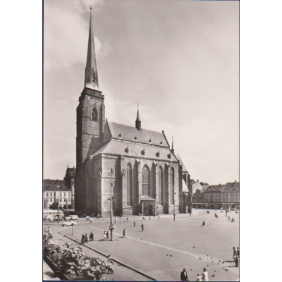 Plzeň - kostel sv. Bartoloměje
