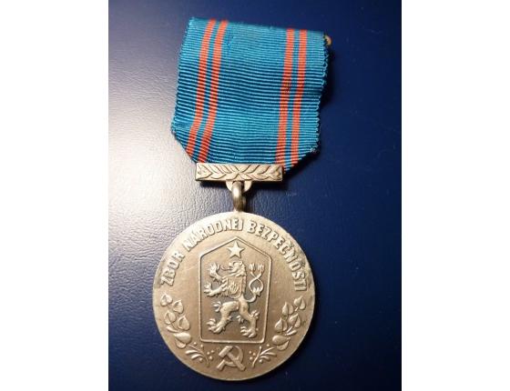 Medaile - Zbor národnej bezpečnosti - Za službu v ZNB