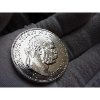 5 Kronen 1907 k.b.