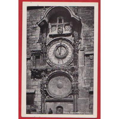 Böhmen und Mähren - Astronomische Uhr in Prag 1943